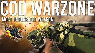 The MOST Underrated Weapon in Warzone that NOBODY is using!