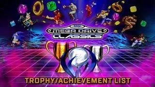 SEGA Mega Drive Classics / Genesis Classics | 🏆 Trophy / Achievement List  (PS4, XBOX ONE)