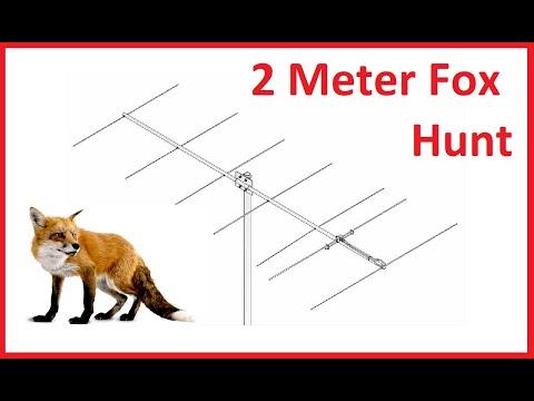 2 Meter Ham Radio Fox Hunt