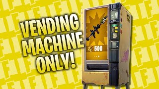 Vending Machine Only Is The WORST