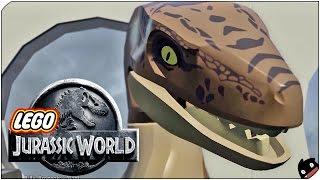 LA HUIDA EPICA!   13   LEGO Jurassic World (60fps)
