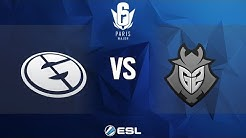 Six Major Paris - Grand Final: Evil Genuises vs. G2