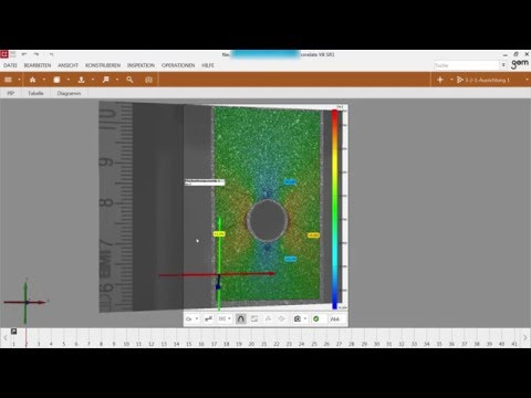 GOM Training Webinar - 2D digitale Bildkorrelation mit GOM Correlate