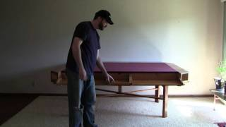 A Professional Gaming Table For Poker Or Warhammer 40k