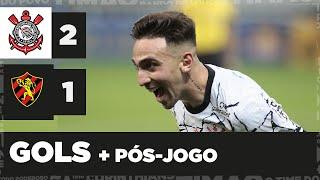 GOLS e pós-jogo de CORINTHIANS 2x1 SPORT - Brasileiro 2021