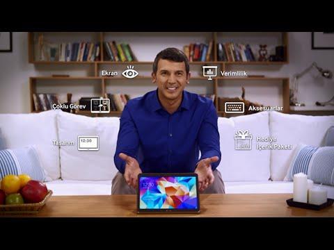Samsung  Galaxy Tab S Türkçe İnceleme