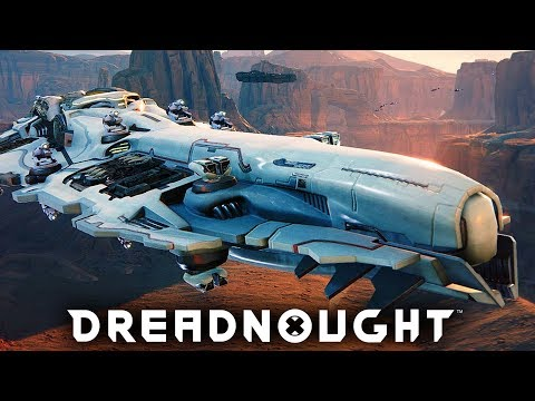 Dreadnought Gameplay - MASSIVE SHIP COMBAT