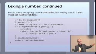 Lexical Scanning in Go - Rob Pike