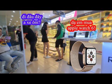 Xe Ôm vào FPT shop mua Apple Watch series 6 nhưng Cái Kết thì... | GoGo TV