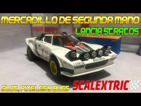 Mercadillo Segunda Mano Lancia Stratos Scalextric Altaya