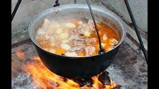 Суп харчо в казане .Самый вкусный рецепт