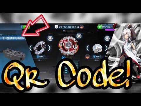 Grey Dual Threat Launcher+Grey Spryzen Requiem Qr Code!
