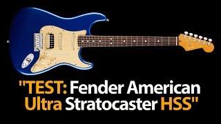 """Gitarrentest: """"Fender American Ultra Stratocaster HSS Cobra Blue"""""""