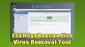 eset sysrescue live offline update