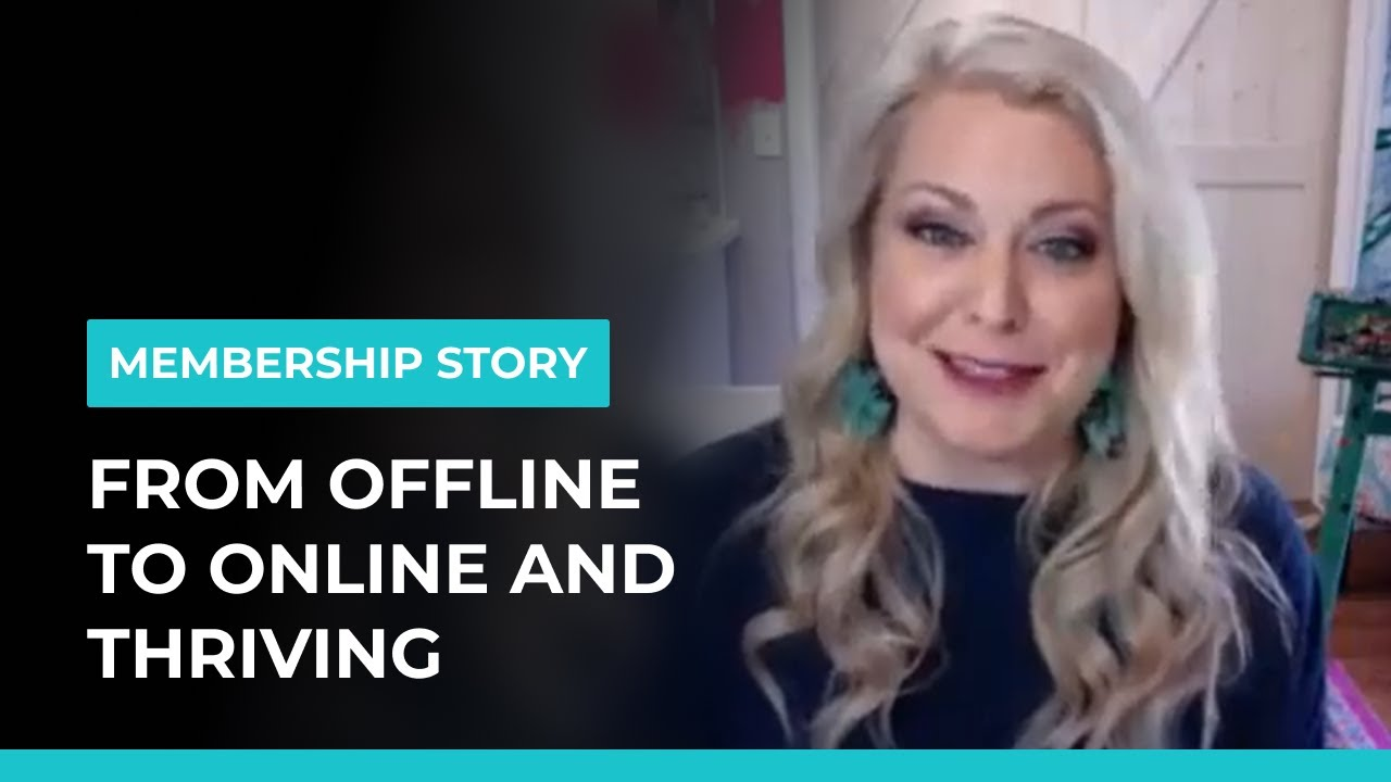 Her Membership Is A Game Changer For Her Business - And Her Life