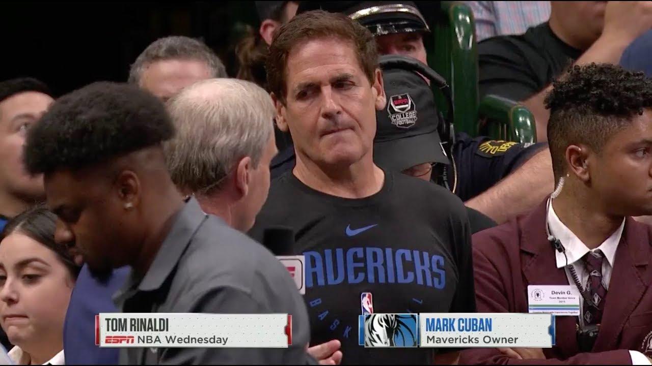 Mark Cuban Reacts To NBA Suspending Season Indefinitely Because Of Coronavirus