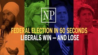 Trudeau wins election, but loses popular vote | Federal election in 60 seconds