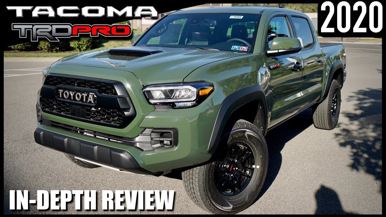Toyota Tacoma 2020 Review.2020 Toyota Tacoma Trd Pro Army Green Better Than Ever