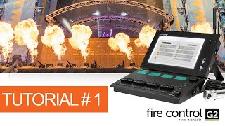 Programming Pyrotechnics on FireControl G2 Tutorial #1 - Library, Project & Scene