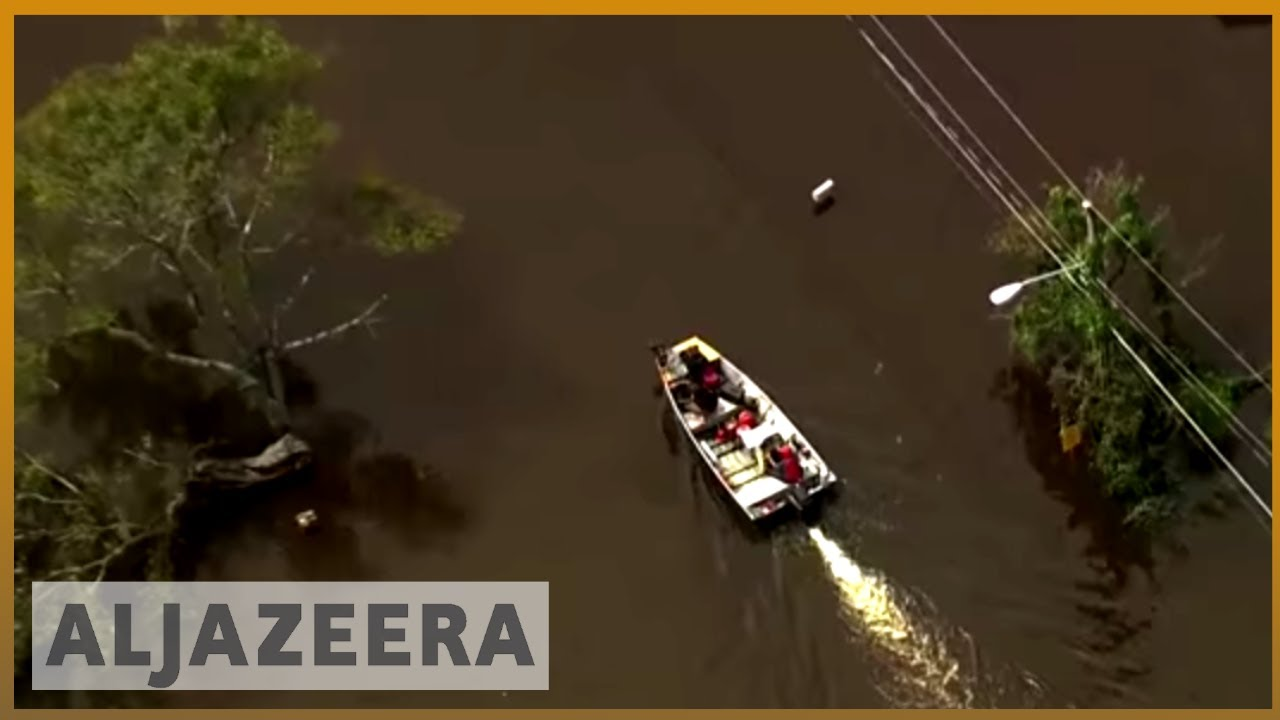 🇺🇸 Florence: North Carolina's rivers still rising after record rain | Al Jazeera English