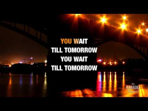 Tomorrow in the style of Silverchair | Karaoke with Lyrics