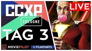 CCXP COLOGNE Tag 3 | DC vs. MARVEL: Shazam! und ein Marvel-Star LIVE auf der CCXP 2019