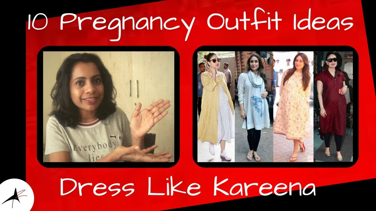 Pregnancy Outfit Ideas In Kareena Kapoor's Style | August #23 | Arpitharai