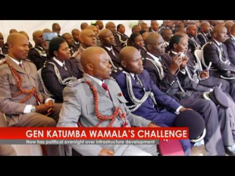 New Vision TV: Gen. Katumba Wamala's journey since 1979