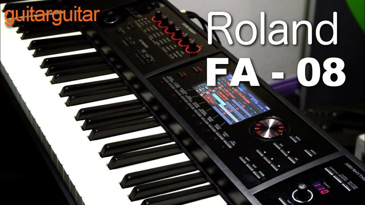 Roland Fa 08 Keyboard Workstation : roland fa 08 workstation youtube ~ Hamham.info Haus und Dekorationen