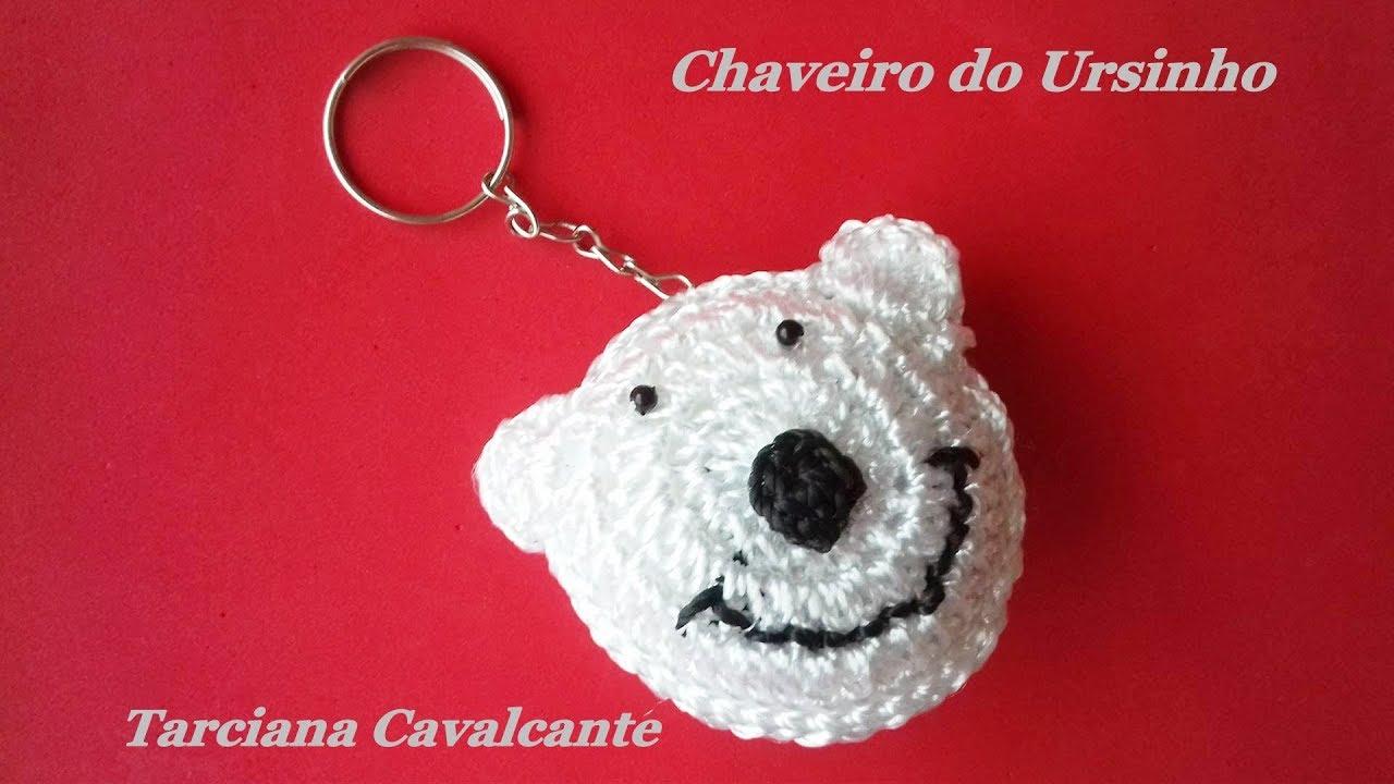 Amigurumi chaveiro urso (crochê) - YouTube   720x1280