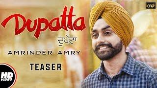 Dupatta (teaser) | amrinder amry | mista baaz | latest punjabi songs 2016 | ima music