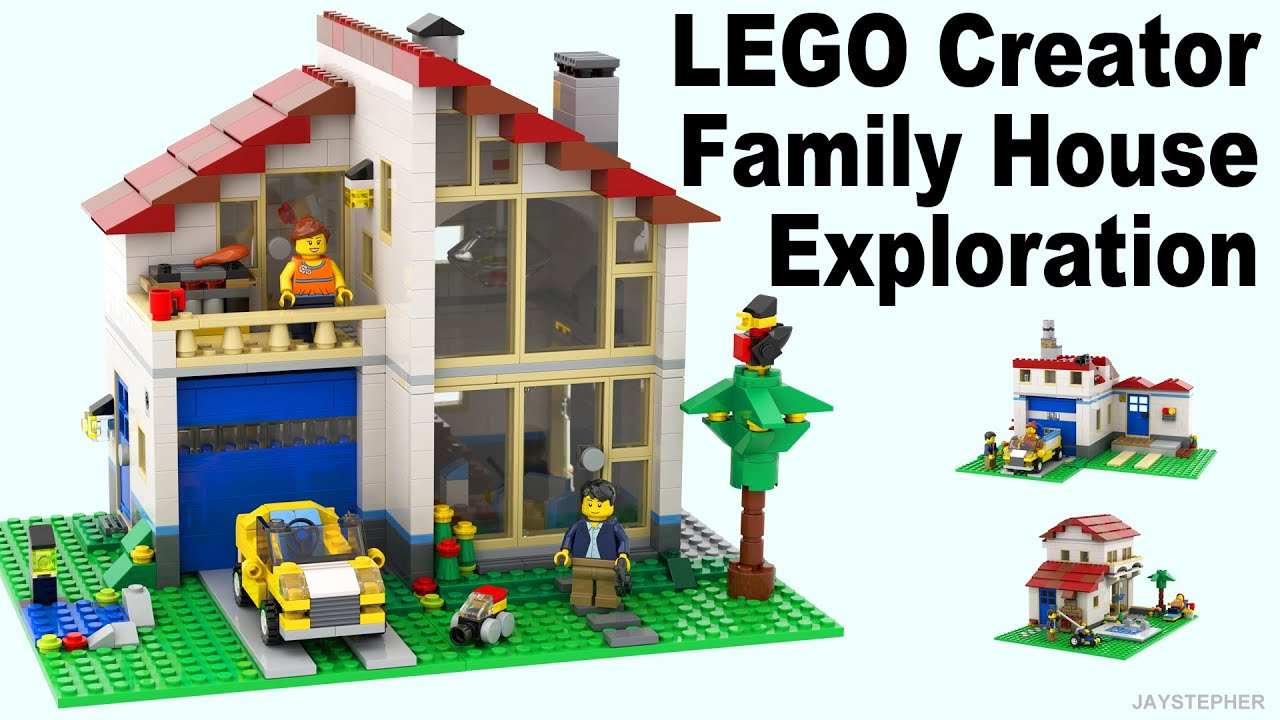 Review Lego Creator Family House 31012 Cc Youtube