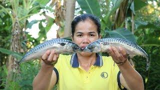 Yummy Cooking Sea Fish Delicious Recipe -  Sea Fish Recipes  -  Travel BANAN Temple In Cambodian