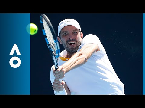 Julien Benneteau v Taro Daniel match highlights (1R) | Australian Open 2018