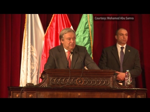 UN chief underlines importance of youth empowerment