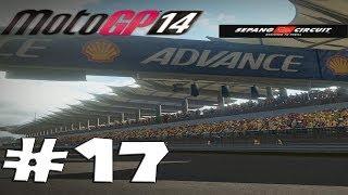 MotoGP 14 - Career Mode Walkthrough Part 17 - Malaysia GP  Gameplay [ HD ]