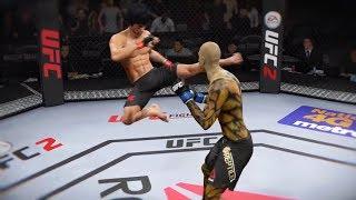 Bruce Lee vs. Reptile (EA Sports UFC 2) - CPU vs. CPU