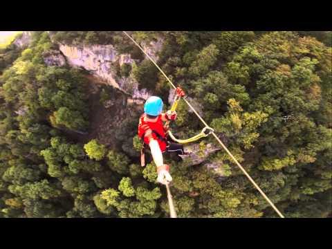 zipline at Yell Extreme Park Armenia