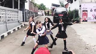 Download Blackpink As If It's Your Last Dance cover public challenge by Blink Kids Sukabumi