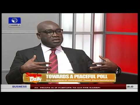 It Is Utopian To Expect Perfect Elections In Nigeria - Lawyer Pt.1