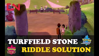 Turffield Stone Riddle Solution in Pokemon Sword and Shield