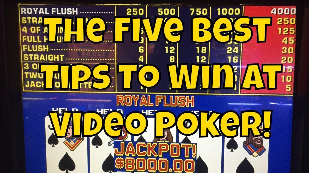 Best Video Poker Pay Tables