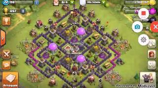 Clash of clans -présentation de mon village+avenir