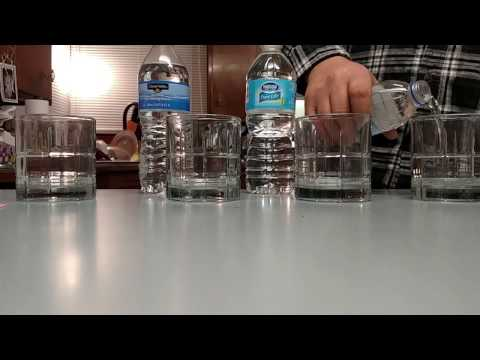 Water PH Test Of Common Bottled Water (Read Description)