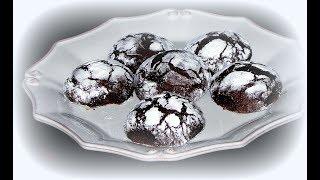 пряники шоколадные с трещинками рецепт от Валентины