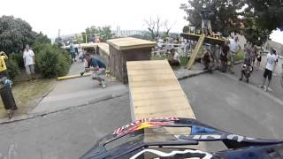 Sick round on Bratislava´s streets over Marcelo Gutierrez´s bike on the way to his win!