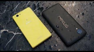 Xperia Z1 Compact vs Nexus 5: обзор-сравнение по играм, камере, тестам (review-comparison)