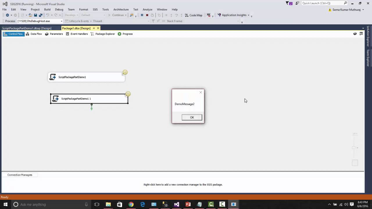 SQL Server 2016 New Feature Series - SSIS-Package Parts