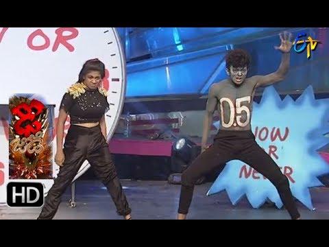 Sanketh and Priyanka Performance 2 | Dhee Jodi | 14th June 2017 | ETV Telugu
