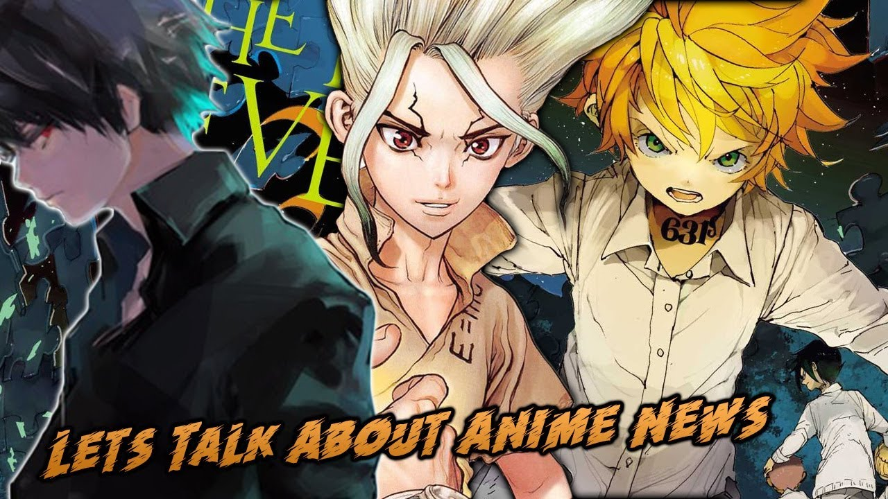 Tokyo Ghoul Re Season 2 Is Trash Dr Stone Anime Announced The Promised Neverland Anime Trailer